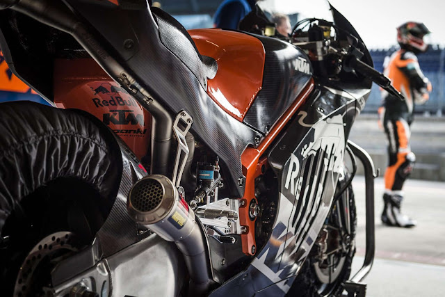 berita motogp Pembalap KTM terkejut jaraknya jauh dari pembalap tercepat