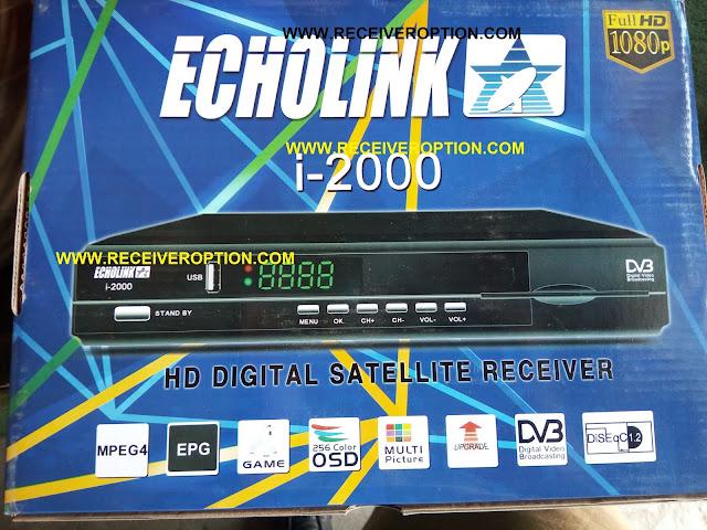 ECHOLINK I-2000 HD RECEIVER BISS KEY OPTION