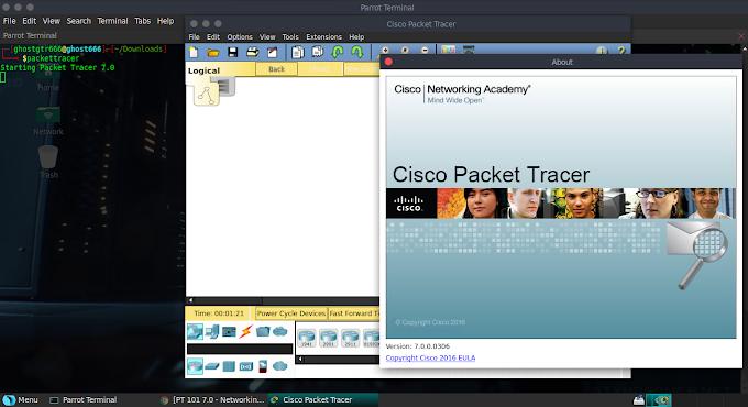 Cara Mengatasi Cisco Paket Tracer Yang tidak Muncul Saat di Buka, di Parrot OS GNU/Linux