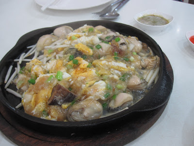 Bangkok, Phaiboon Seafood, oyster omelette