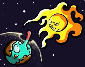 Imagen de la Capa de Ozono con un agujero