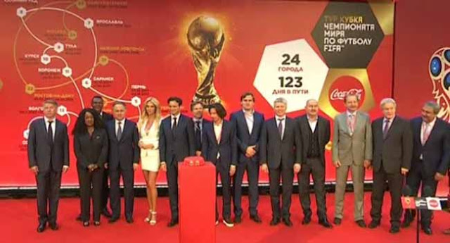 Russia Launches FIFA World Cup Trophy Tour