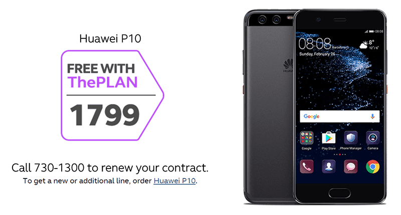 huawei-p10-plan-1799 Huawei P10 And P10 Plus Now Available At Globe Postpaid Plans Technology