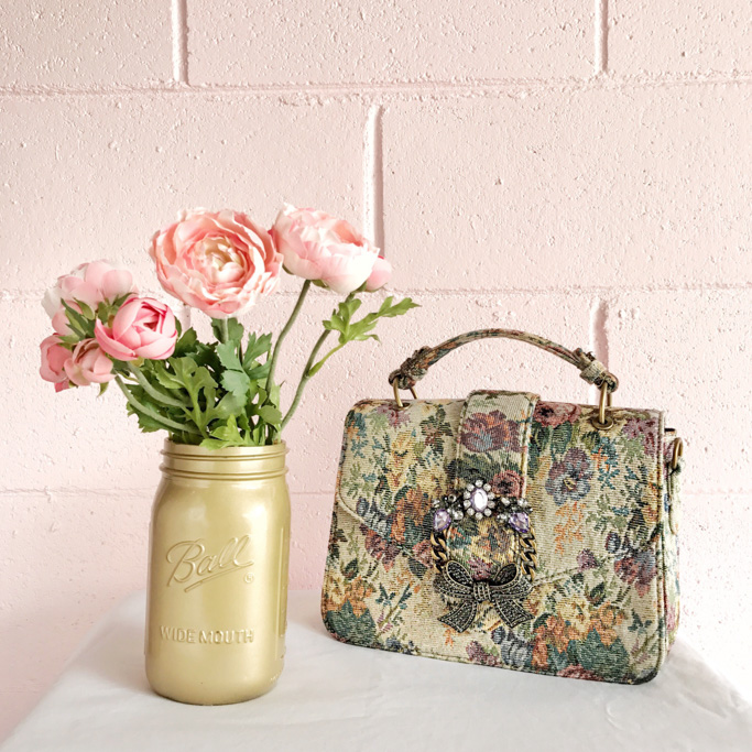 ALDO Telawen bag in natural print