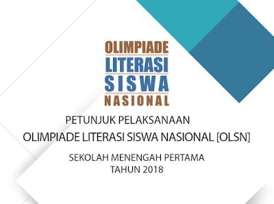 JUKNIS OLSN SMP 2018 Olimpiade Literasi Siswa Nasional