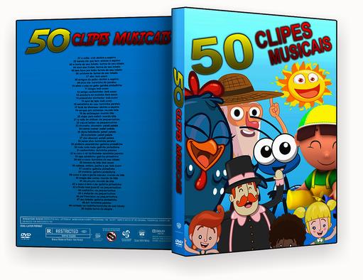 CAPA DVD – 50 CLIPES MUSICAIS 2018 – ISO