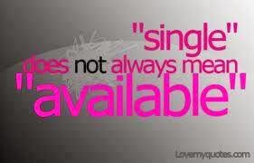 Single? So what?