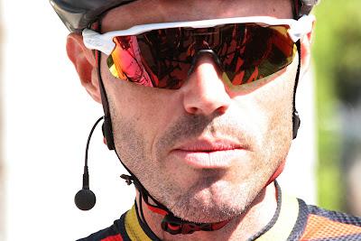 Samuel Sanchez, famous Euskaltel-Euskadi rider, with Team BMC