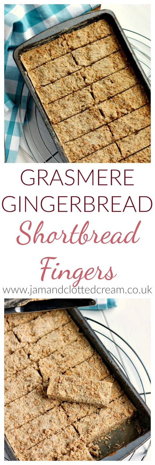 Grasmere Ginger Shortbread Fingers