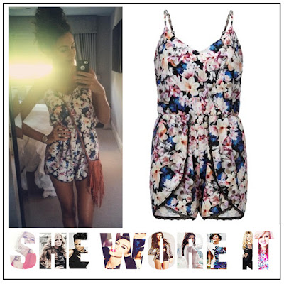 Black, Floral Print, Hem Detail, High Waisted, Lace, Lipsy, Lipsy Love Michelle Keegan, Michelle Keegan, Multicoloured, Playsuit, Sleeveless, Trim Detail, V-Neck,