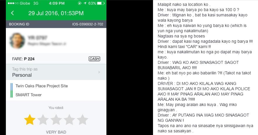 GrabCar Philippines