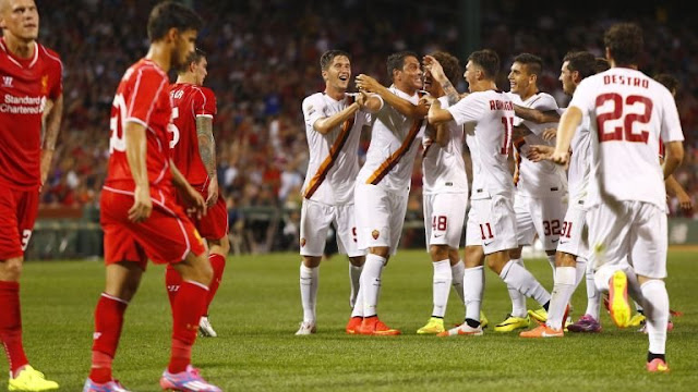 AS Roma vs Liverpool