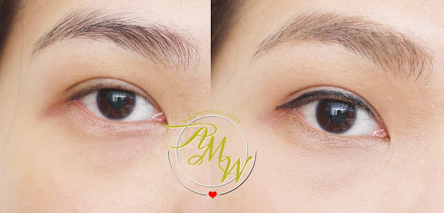 before and after photo of Happy Skin x Beauty Bar Bullseye Perfect Brow Trio Soft Brown