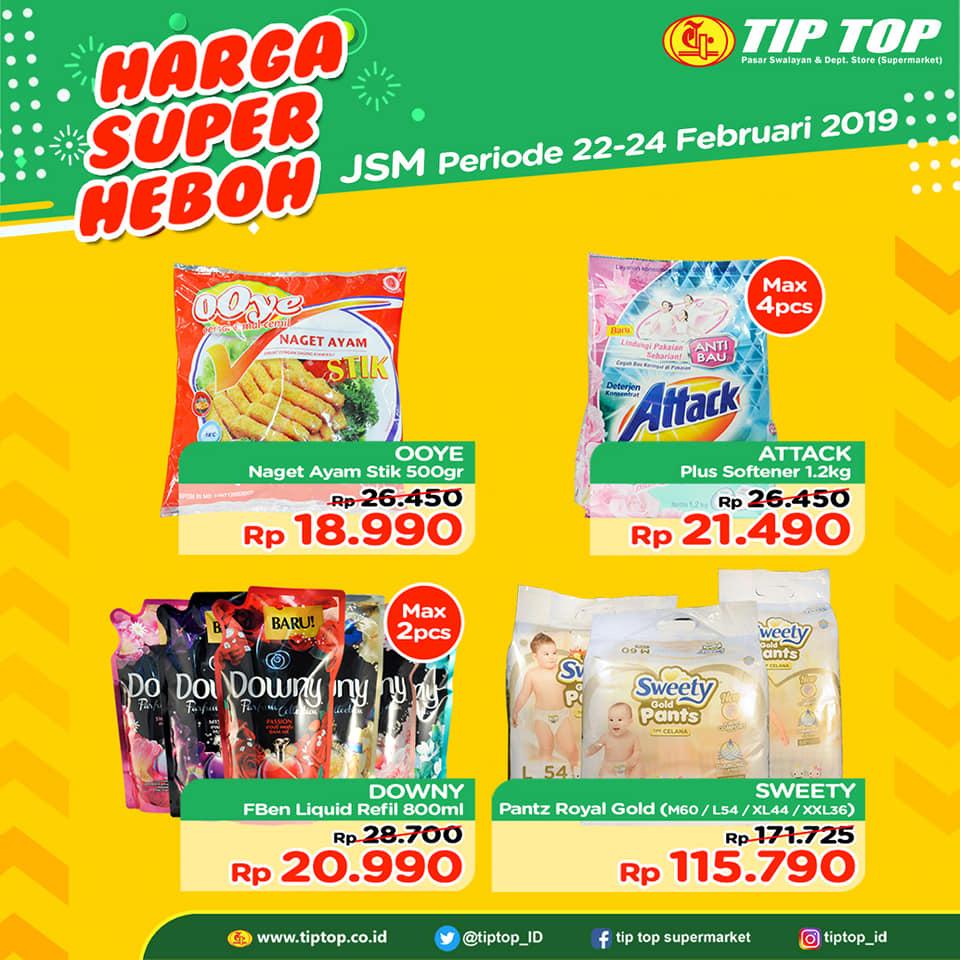 #TipTop - #Promo #Katalog JSM Periode 22 - 24 Februari 2019
