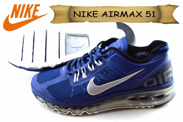 harga sepatu NIKE AIRMAX 51 FULL TABUNG GRADE ORI DOFF Warna biru jakarta -  Lia Shop Online 86cda173fd