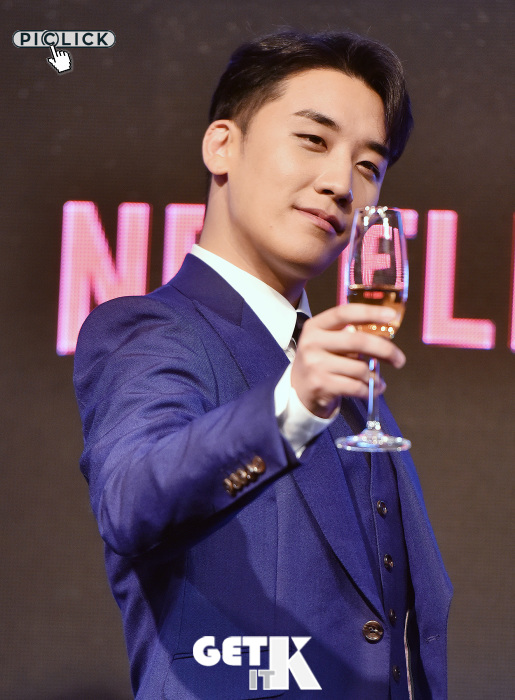 "Seungri at ""YG Future Strategy Office"" press conference"