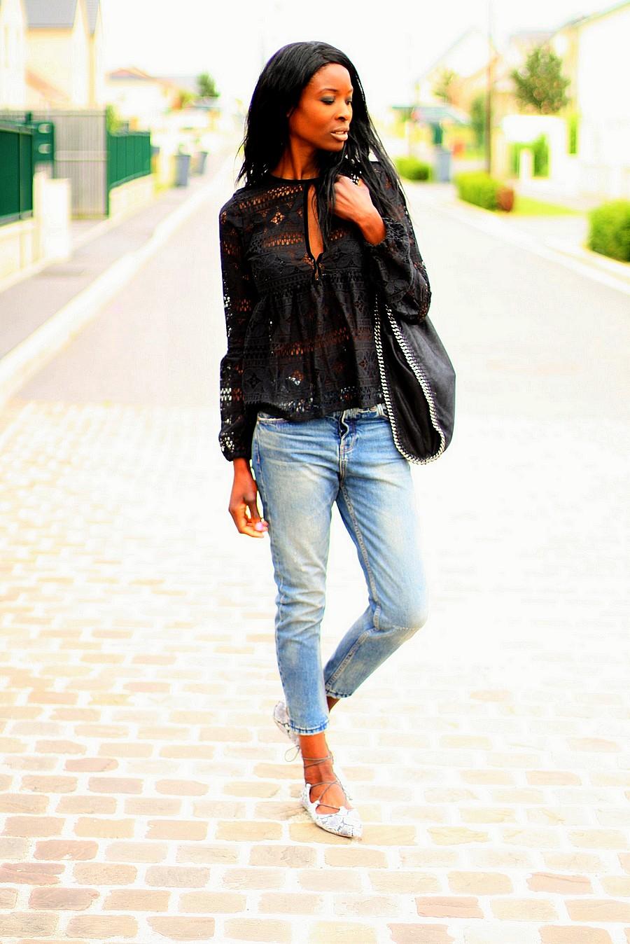 top-dentelle-sac-falabella-stella-mccartney-jeans-boyfriend-mocassins-lacets-topshop-blog-mode