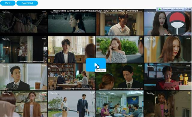 Screenshots Download Film Drama Korea Gratis Bride Of The Water God, The Bride of Habaek, 하백의 신부 (2017) Episode 12 DWBH NEXT MP4 Free