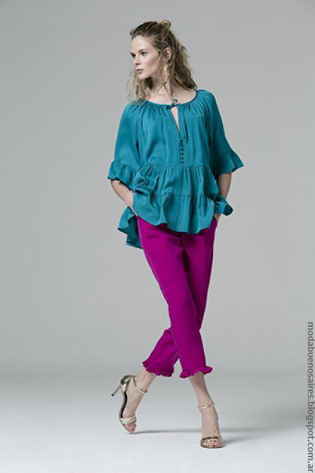 Moda 2017 ropa de moda primavera verano 2017 túnicas y blusas.