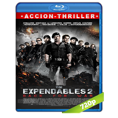 Los Indestructibles 2 (2012) BRRip 720p Audio Trial Latino-Castellano-Ingles 5.1