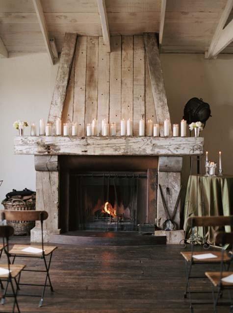 my scandinavian home: Cosy rustic fireplace