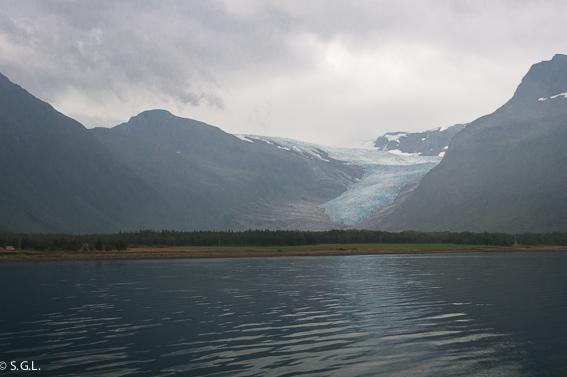 Glaciar Svartisen. Noruega