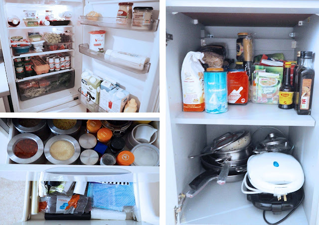 IKEA Live Lagom fridge before and after