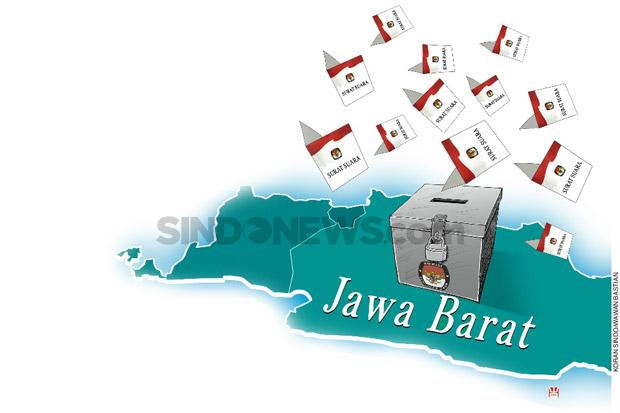 LKPI Lakukan Exit Poll Pilgub Jabar, Ini Hasilnya