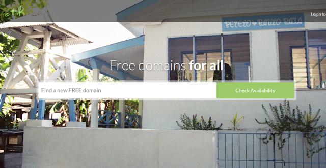 Dot TK- Free domain