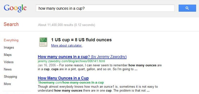 Adventures in Homeownership: How Many Ounces in A Cup?