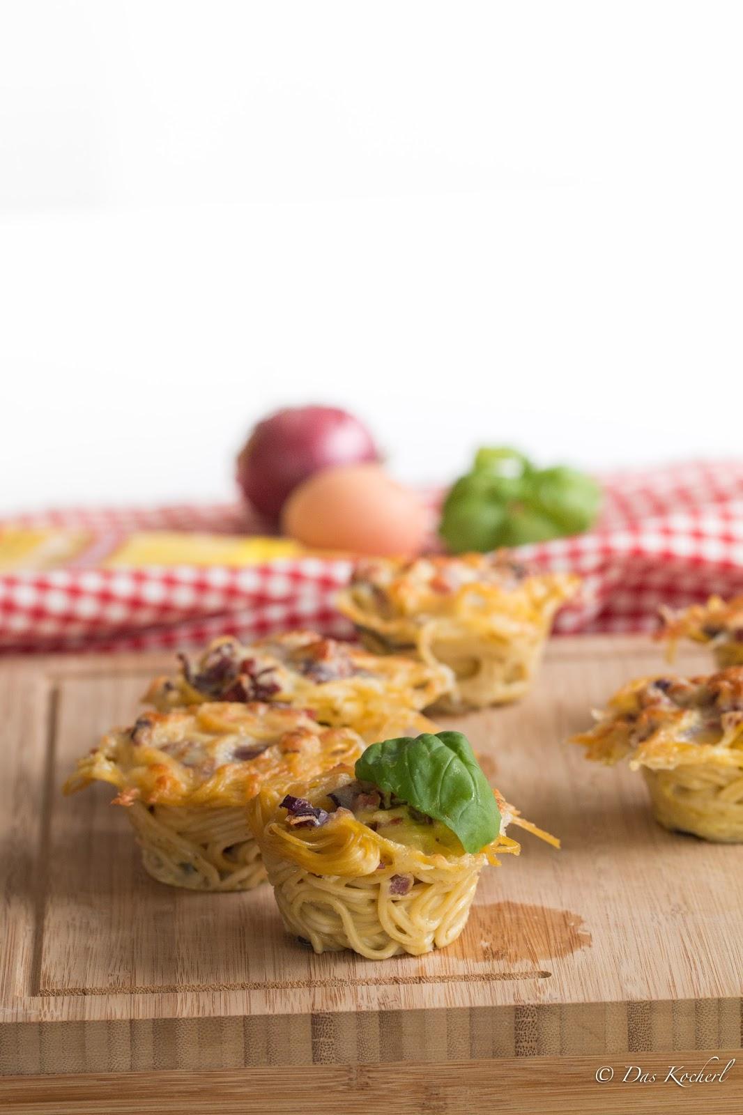 Spaghetti-Carbonara-Muffins