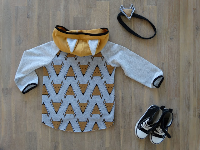 dziecięca bluza w liski 5