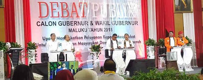 Komisi Pemilihan Umum (KPU) Maluku siap menggelar debat publik pasangan calon Gubernur dan Wagub setempat putaran kedua di Ambon pada 20 Juni 2018.