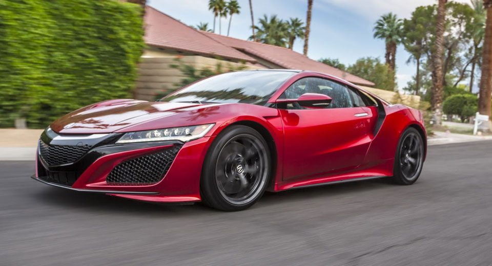2017 Acura NSX Expected To Receive Type R And Roadster ...