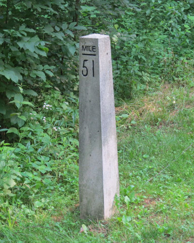 canal mile marker