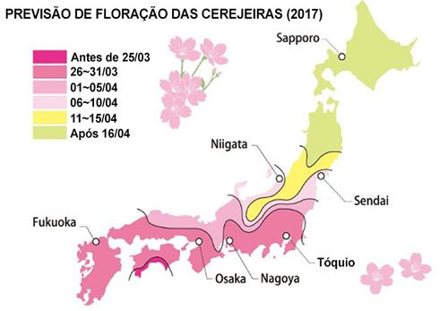 floração das cerejeiras 2017