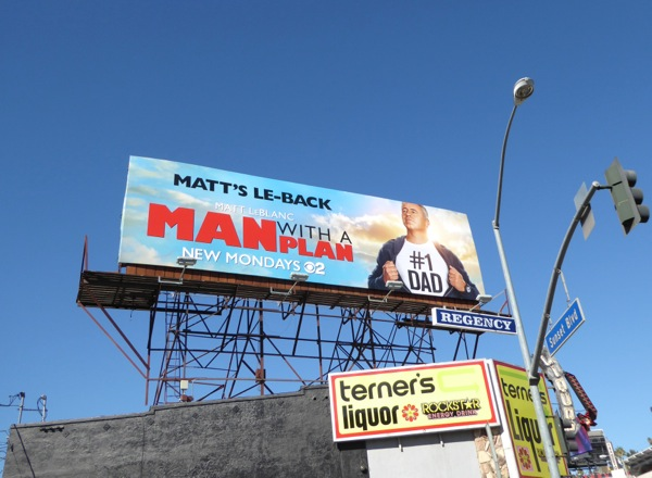 Man with a Plan series launch billboard
