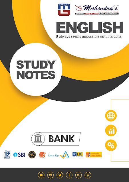 Study Notes: Tenses and Its Types For All Bank & Other Competitive Exams | 05-09-18