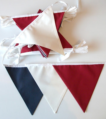 pick and mix colours wedding bunting