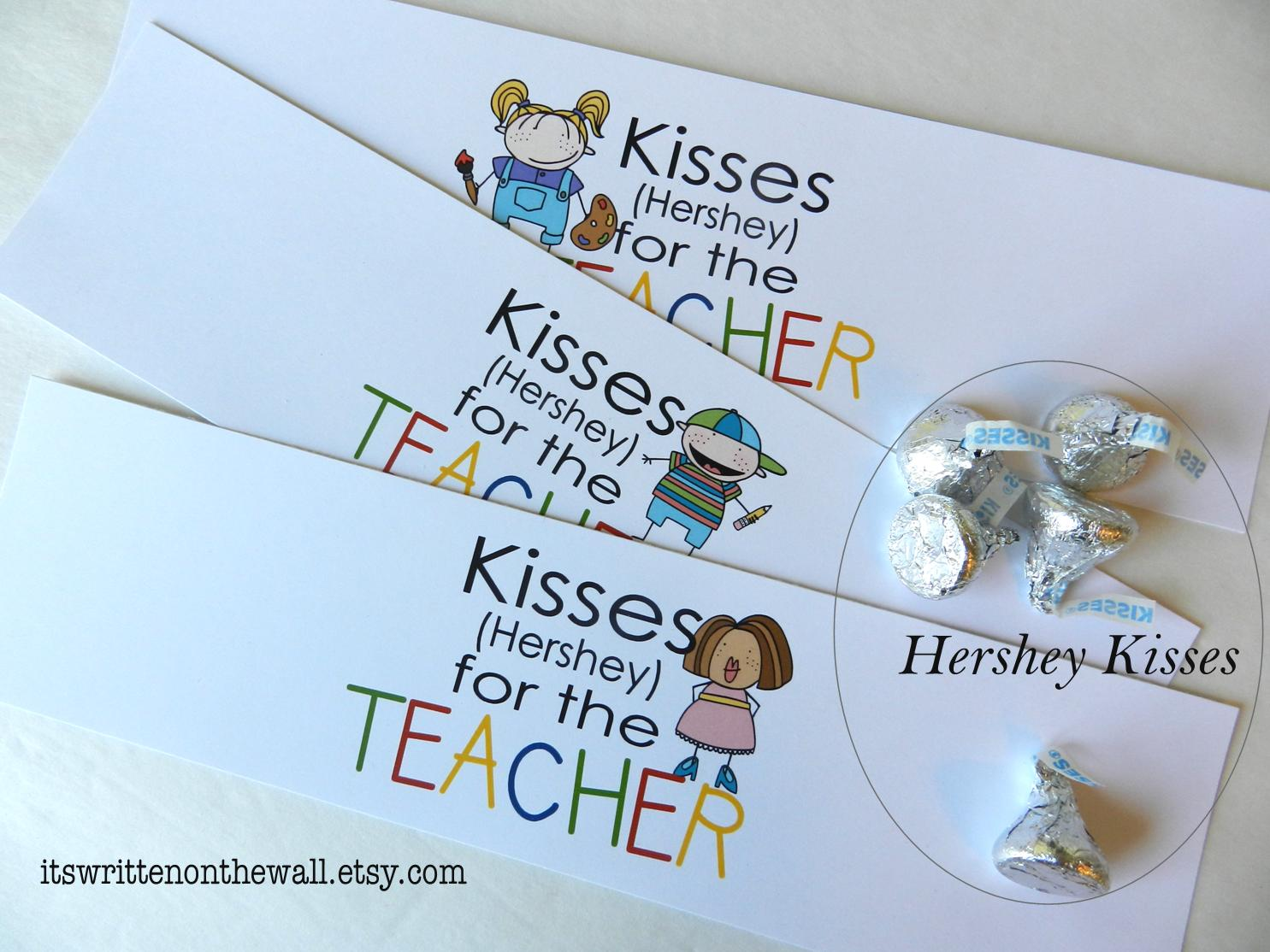 Saying For Hershey Kisses For A Teacher