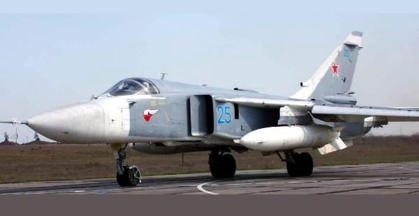 Sukhoi Su-24M Fencer D Caça bombardeiro (UAC-KnAAPO)