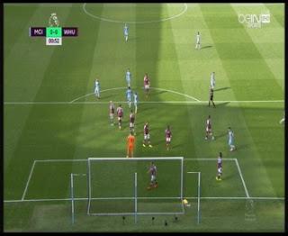 اهداف مباراة مانشستر سيتي ووست هام يونايتد 3-1 اليوم 28-8-2016