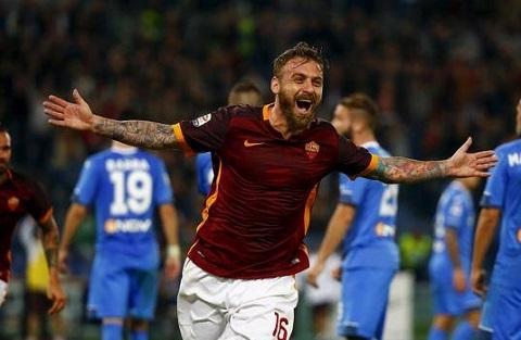 Mặc dù Man United theo đuổi quyết liệt nhưng chân sút vẫn luôn trung thành với màu áo của Roma.
