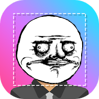 Aplikasi Edit Foto Android Rage Face Photo