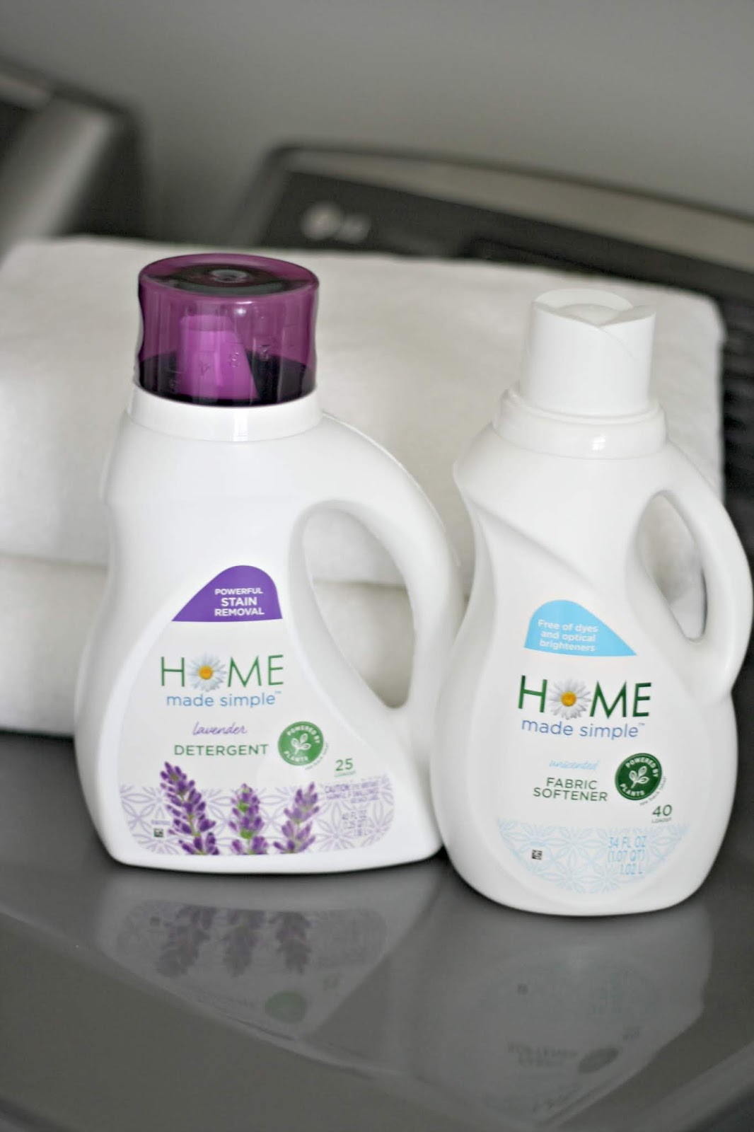 Home Made Simple laundry products