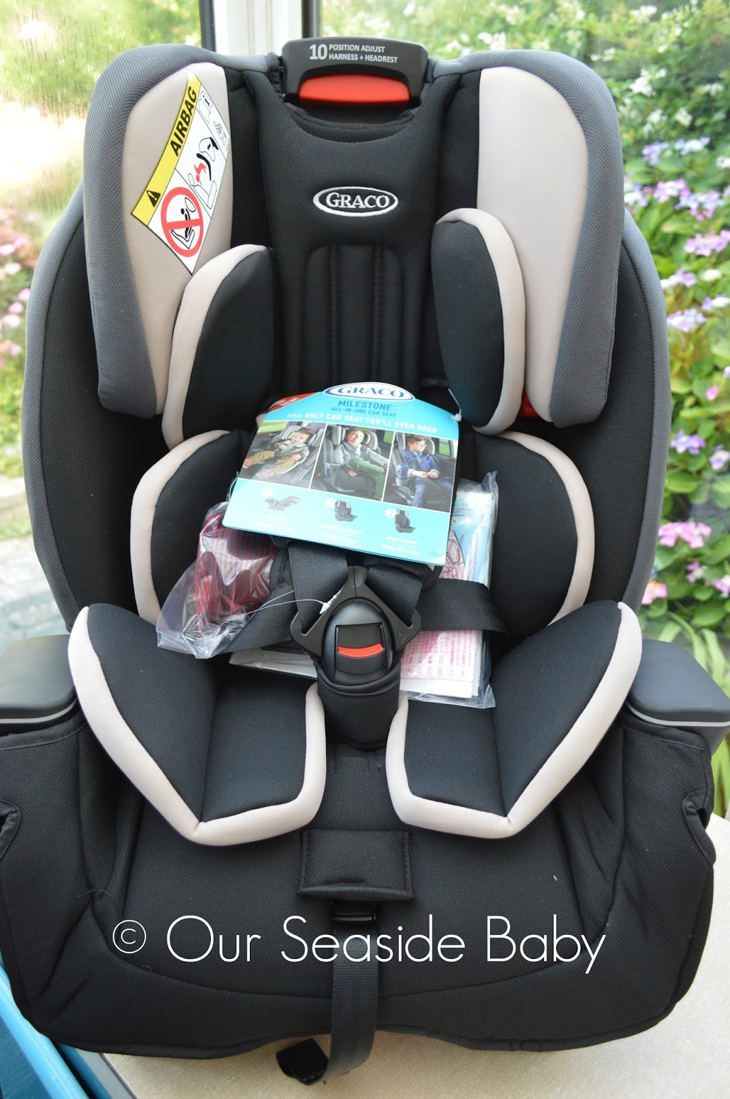 Graco Milestone All-In-One Car Seat Review | OUR SEASIDE BABY