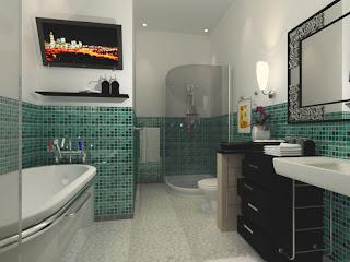 Contoh model kamar mandi minimalis modern 2019