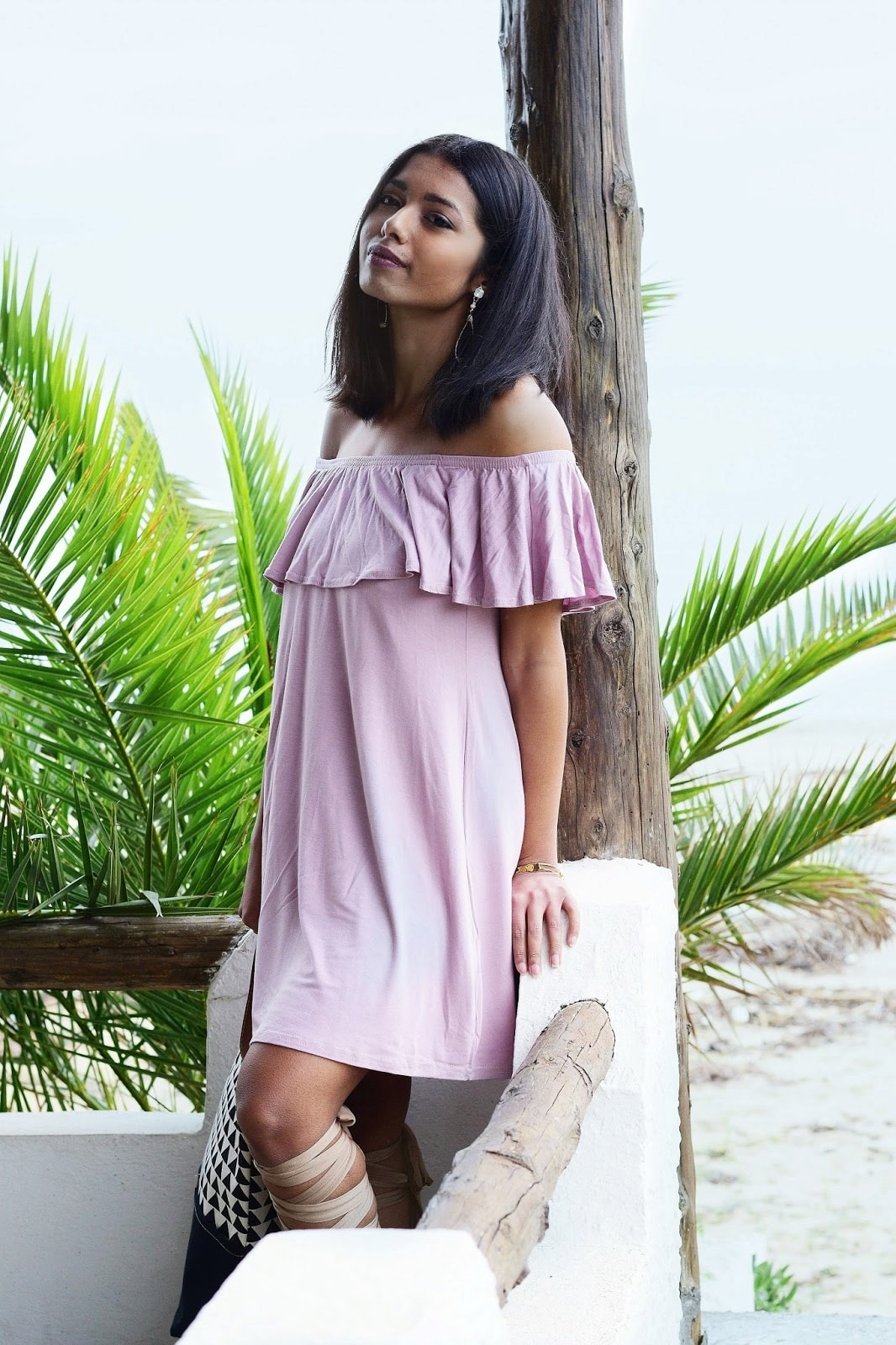 chic beach dress