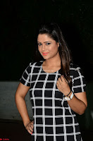 Shilpa Chakravarthy in Dark blue short tight dress At Srivalli Movie Pre Release Event ~  Exclusive Celebrities Galleries 049.JPG