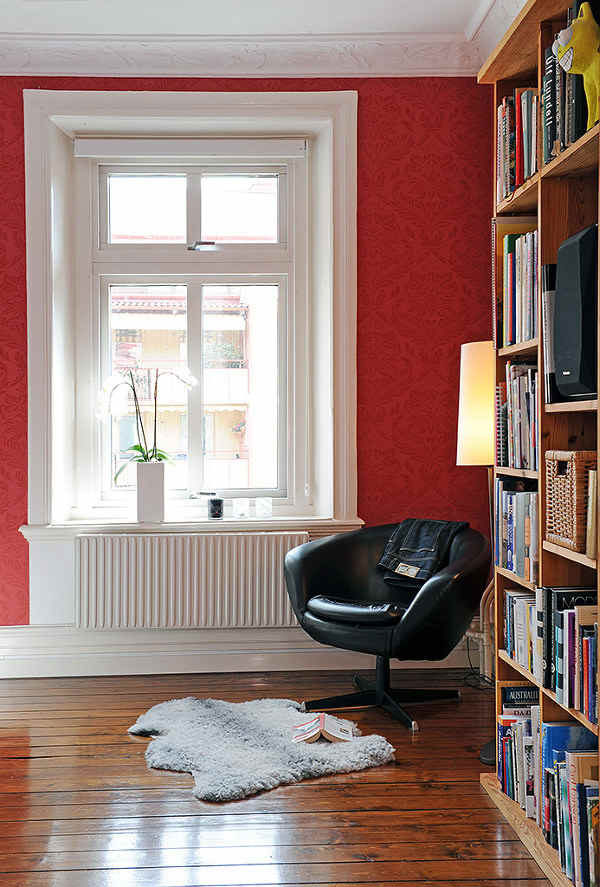 Reading Room Design Ideas: Home Decor Walls: Reading Corner Design Ideas For Small Space
